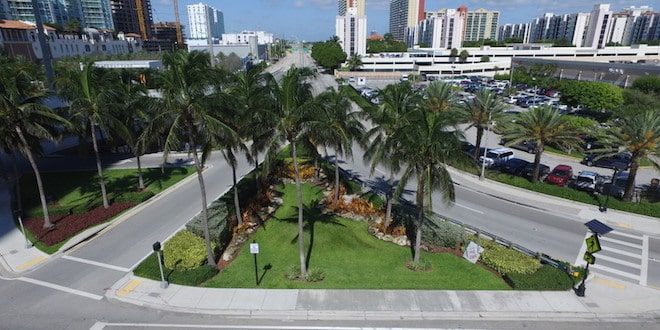 Cross street area of 163 Street & Collins Avenue
