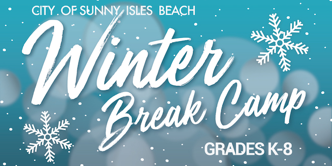 City of Sunny Isles Beach Winter Break Camp, Grades K-8
