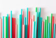 Single use plastic drinking straws
