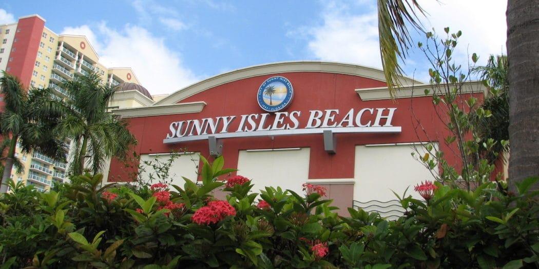Sunny Isles Beach Building with logo