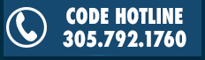 24-hour code hotline: call 305.792.1760