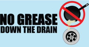 No Grease down the Drain