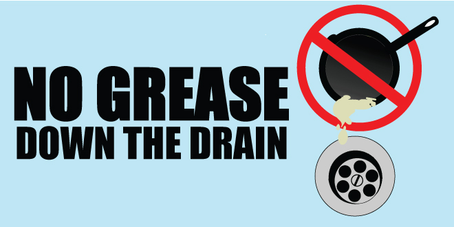 No Grease down the Drain