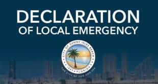 Declaration of Local Emergency