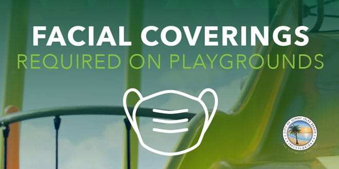 Facial Coverings Required on Playgrounds
