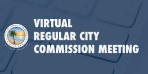 Virtual Regular City Commission Meeting