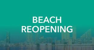 Beach Reopening