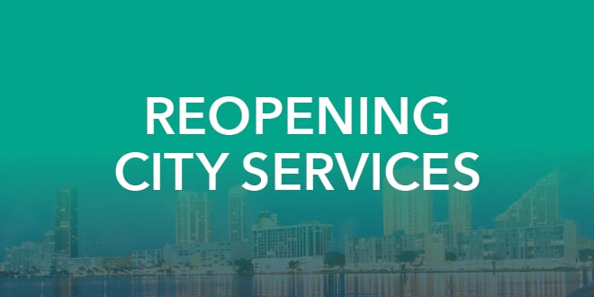 Reopening City Services