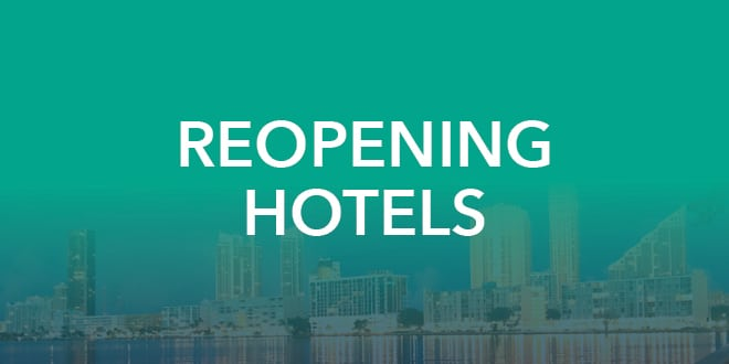 Reopening Hotels