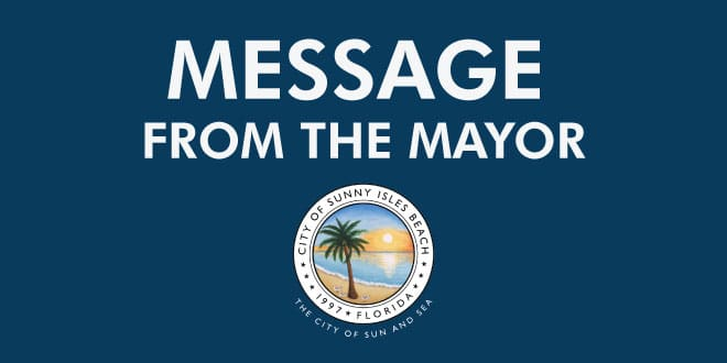 Message from the Mayor