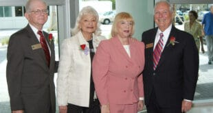 Senator Gwen Margolis with former Sunny Isles Beach City Commissioners
