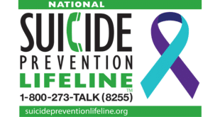 Suicide Prevention Lifeline 1-800-275-TALK