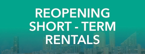 Reopening Short-Term Rentals Button