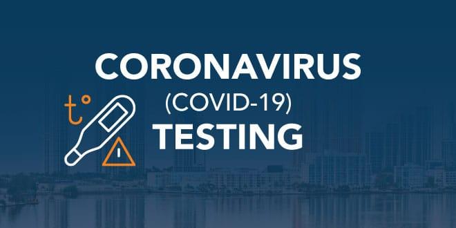 Coronavirus COVID-19 Testing