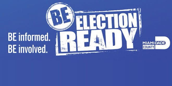 Be Election Ready. Be informed. Be involved.
