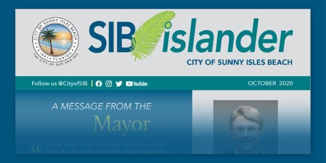 SIB Islander Monthly Mailer - October 2020