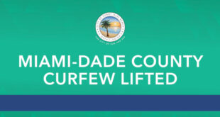 Miami-Dade County Curfew Lifted