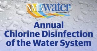 Annual Chlorine Disinfection of the Water System