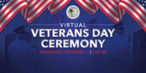 Virtual Veterans Day Ceremony