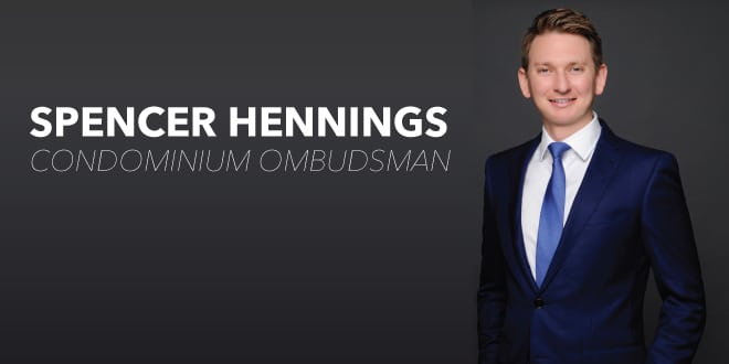Spencer Hennings, Condominium Ombudsman