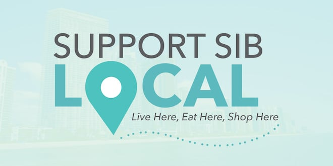 Support SIB Local. Live here, eat here, shop here.