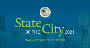 """State of the City 2021 Mayor George """"Bud"""" Scholl"""