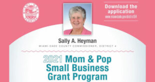 2021 Mom and Pop Small Business Grant Program