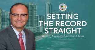 Setting the Record Straight with City Manager Christopher J. Russo