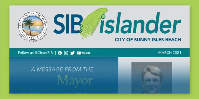SIB Islander Monthly Newsletter - March 2021