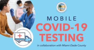Mobile COVID-19 Testing in collaboration with Miami-Dade County