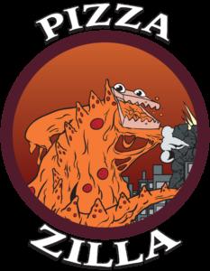 Pizzazilla Miami logo