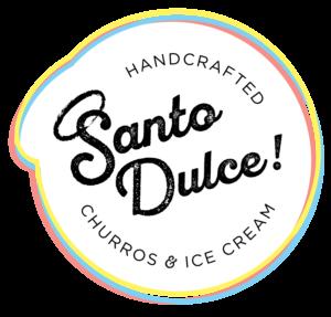 Santo Dulce Hancrafted Churros and Ice Cream logo