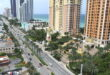 Collins Avenue Aerial View