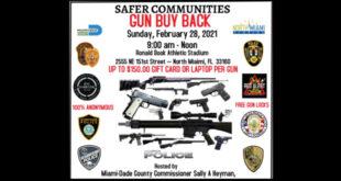 Safer Communities Guy Buy Back Event Sunday, February 28