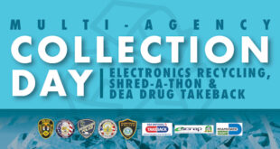 Multi-Agency Collection Day Electronics Recycling, Shred-a-thon & DEA Drug Take Back