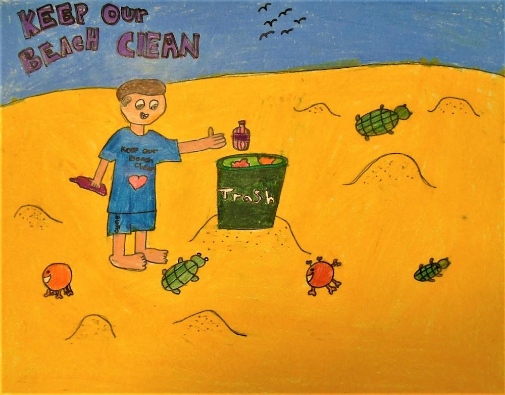 Beach Beautiful Poster Contest winner