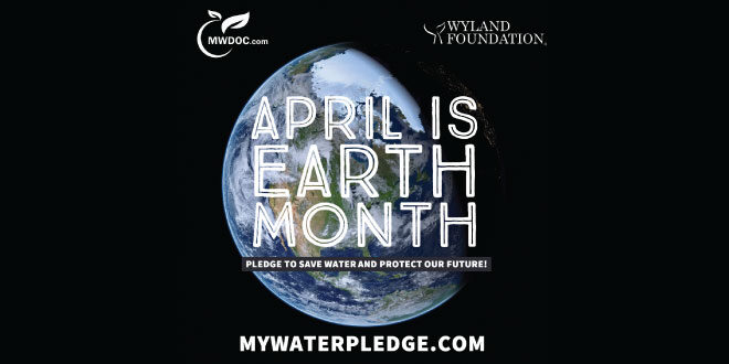 April is Earth Month. mywaterplege.com