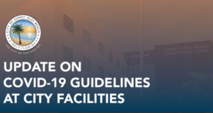 Update on COVID-19 Guidelines at City Facilities