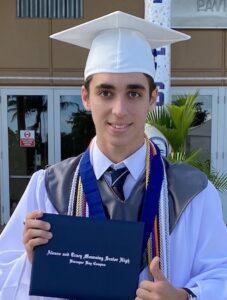 Graduating Senior, Thomas Brown