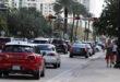Traffic on Collins Avenue