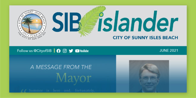 SIB Islander Monthly Newsletter - June 2021