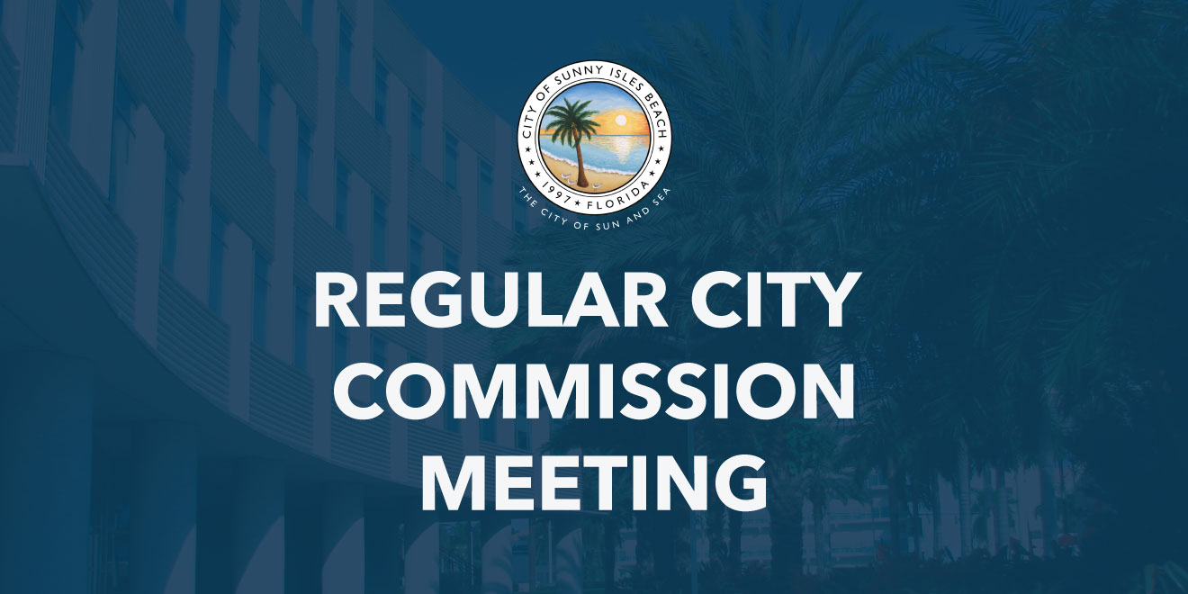 Regular City Commission Meeting