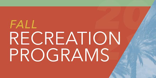 Fall Recreation Programs